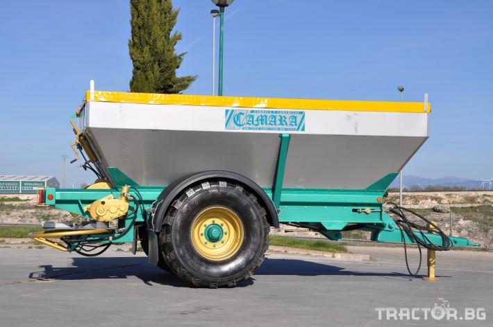 Ремаркета и цистерни Ремарке тороразхвърлящо  CAMARA 1 - Трактор БГ