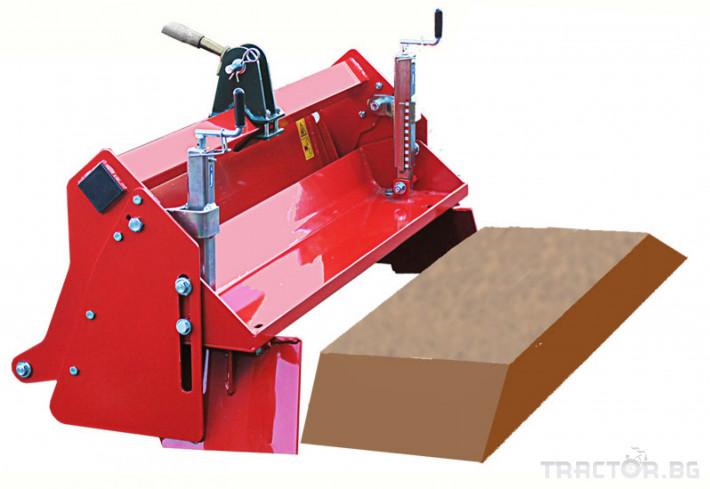 Мулчери Мулчер - трошачка на камъни за оформяне на лехи. НМ 1 - Трактор БГ