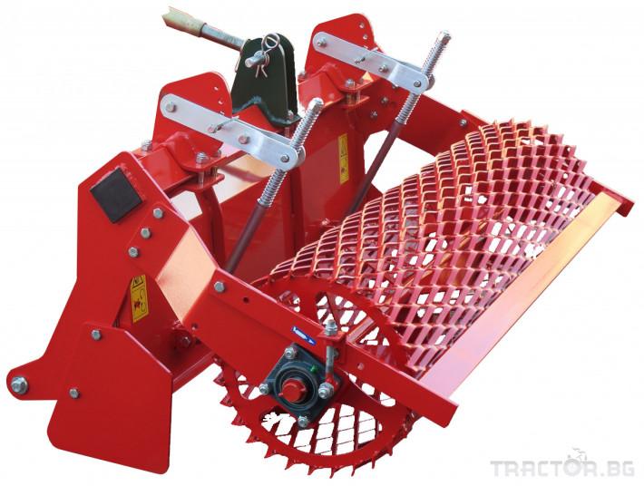 Мулчери Мулчер - трошачка на камъни за оформяне на лехи. НМ 3 - Трактор БГ
