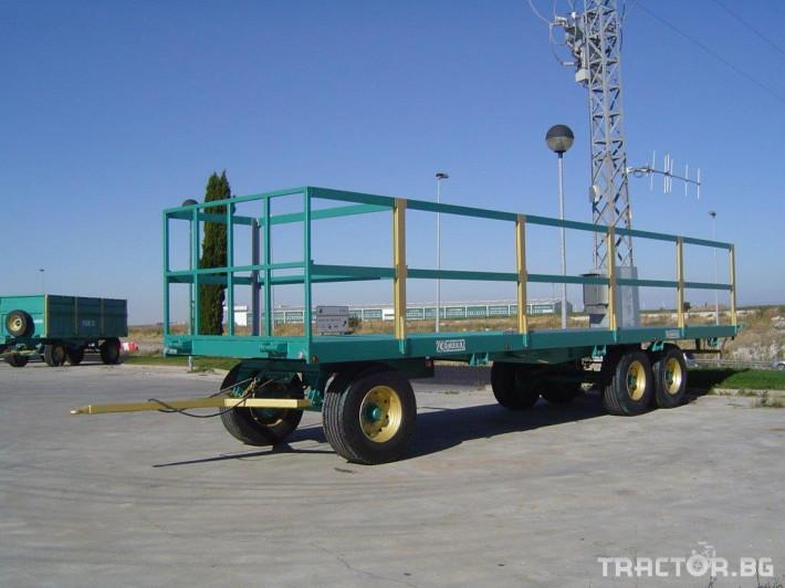 Ремаркета и цистерни CAMARA 1 - Трактор БГ