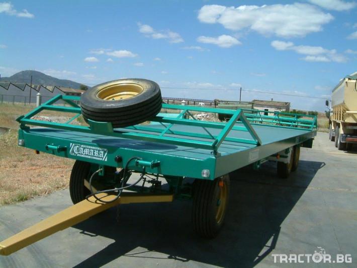 Ремаркета и цистерни CAMARA 6 - Трактор БГ